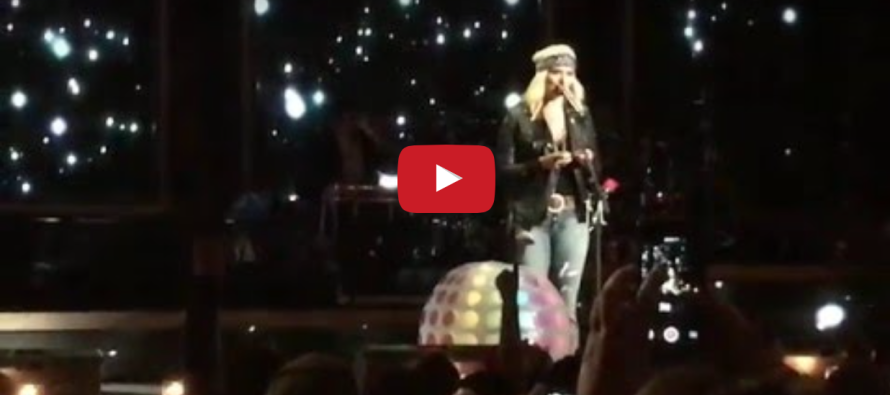 Fans Stunned When They See THIS Against Miranda Lambert's Chest at Concert [VIDEO]