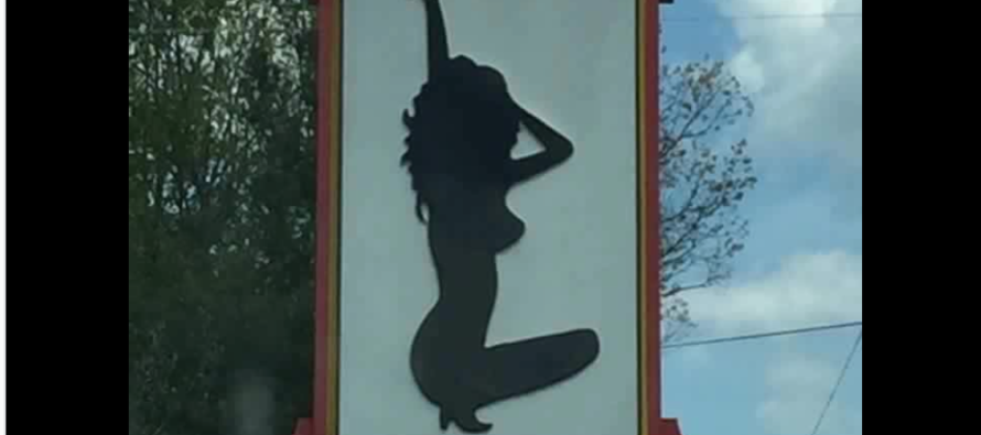 Strip Club Sign Causes National Outrage – See It And You'll Know Why