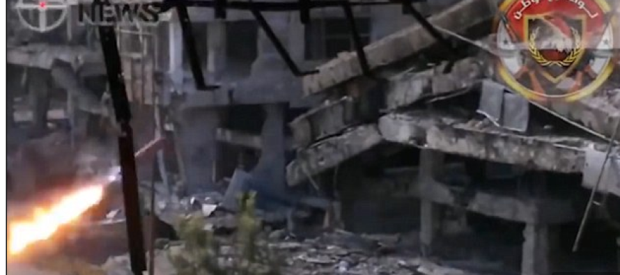 BOOM: Cocky ISIS Fighter Gets Blasted by Deadly Missile [VIDEO]