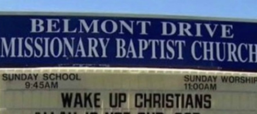 This Church Just Put The 'Religion Of Peace' In Its Place!