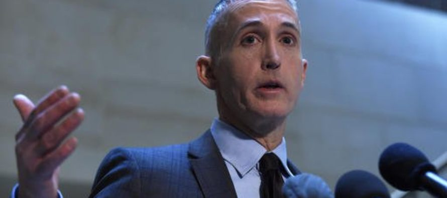 YES! Trey Gowdy's Career Takes Surprise Turn Under Trump – This Is Good News!