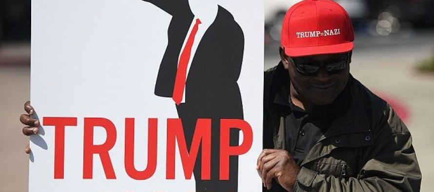 Trump Targeted in California May Day Protests – Illegal Immigrants/Communists Fuel Violence