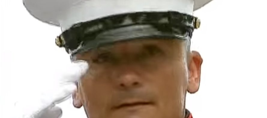 Wounded Marine Held a Salute for 3 Hours… Then Bikers Did THIS [VIDEO]