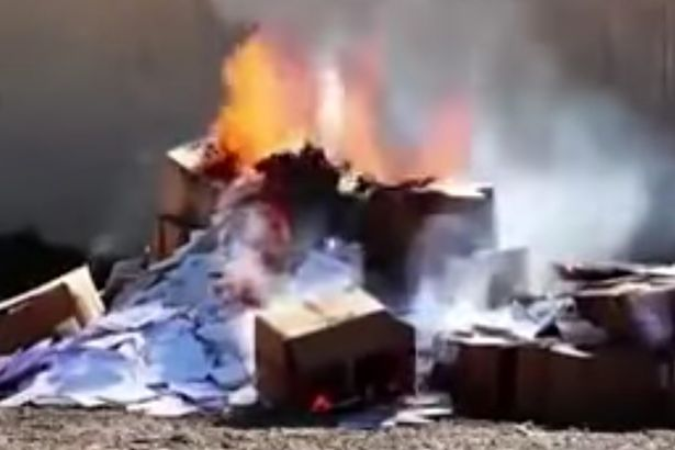 VID-ISIS-militants-burned-hundreds-of-Christian-textbooks-in-Mosul-Iraq