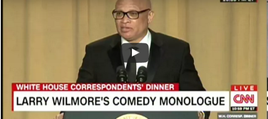 Larry Wilmore Throws Racially Charged Joke At Obama, His Response Is… [VIDEO]