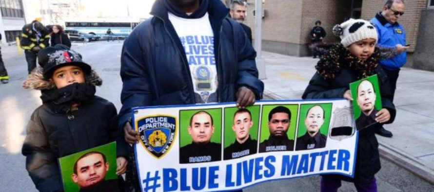 HUGE Victory In The 'Blue Lives Matter' Movement Signed Into Law