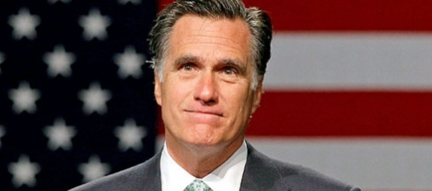 This Conservative Publication is Publicly Calling on Mitt Romney to Run Third Party