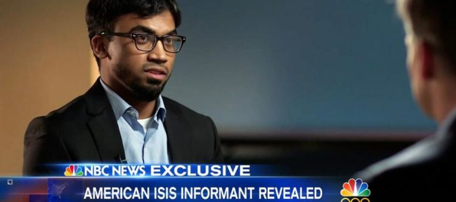 American Who Joined ISIS Now Cooperating With FBI After Seeing THIS