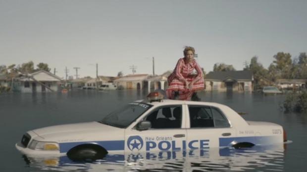 beyonce police car