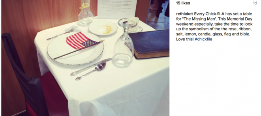 Chick-fil-A does the unthinkable for Memorial Day