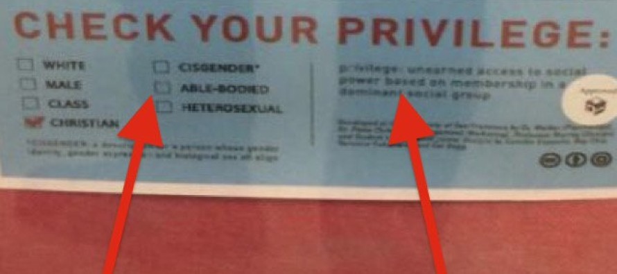 College Indoctrinates Students To 'CHECK Their CHRISTIAN Privilege' – Are They KIDDING!?