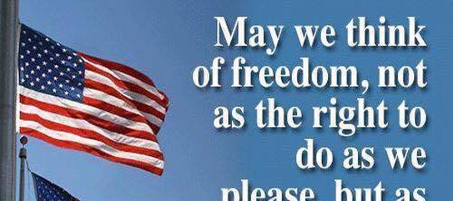 Freedom In America Summed Up In One Meme