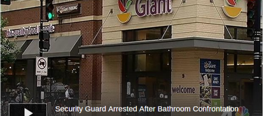 Security Guard ARRESTED For Escorting Transgender Out of Women's Restroom