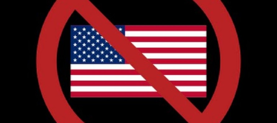 American Flag Shirts Banned…But They Allow This!