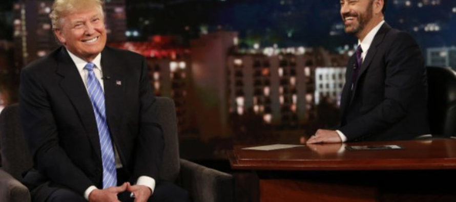 Jimmy Kimmel Tries to Corner Trump With Trans Bathroom Question… Gets THIS Response!