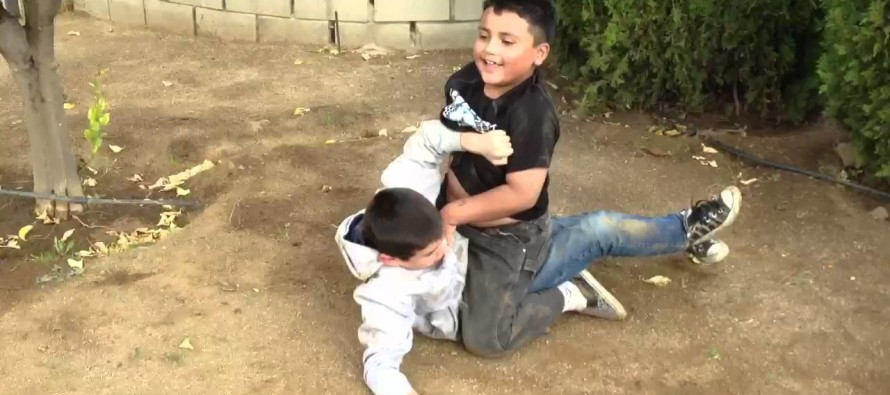 VIDEO: This Kid Badly Breaks His Arm During a Fight