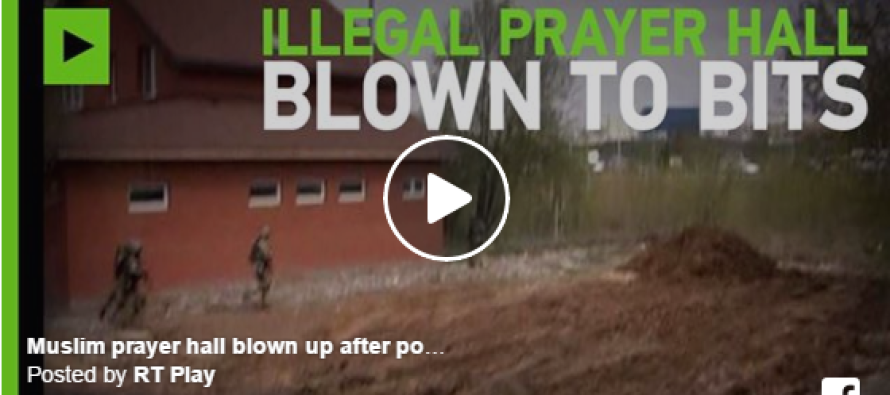 Russian Police Locate A Mosque, But What They Do Next Is Shocking [VIDEO]