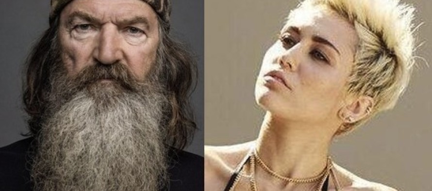 Phil Robertson Doesn't Hold Back When He Reveals What the Problem With Liberal Miley Cyrus REALLY Is