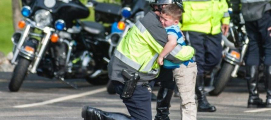 THIS Is What Made A Little Boy Beg His Father To Stop Being A Cop…