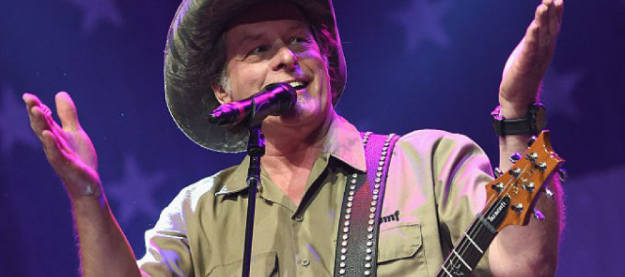 LOL! Ted Nugent Does It Again – SLAMS Hillary in This VIRAL Video