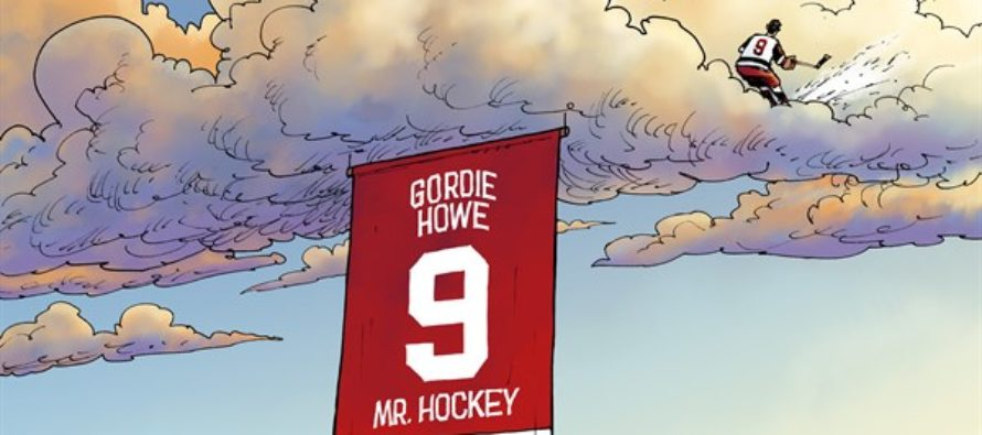 RIP Gordie Howe (Cartoon)