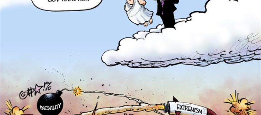RIP George Voinovich (Cartoon)