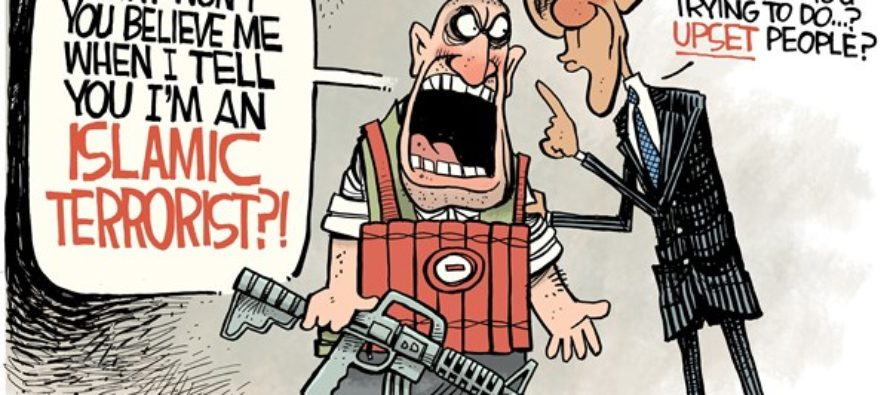 Obama Denial (Cartoon)