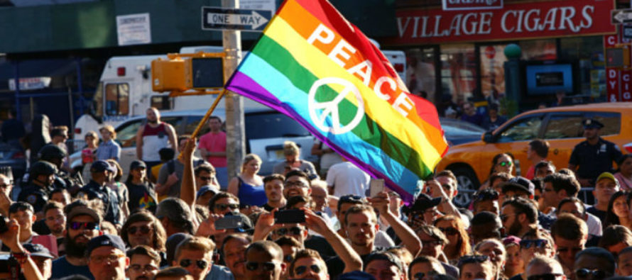 Look How Gays In West Hollywood Are Responding To Gun Control After Orlando – LIBERALS Will Fume!