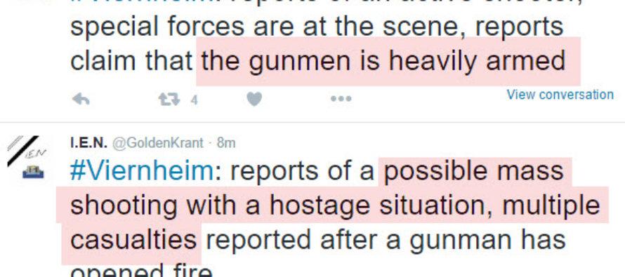 BREAKING: Heavily Armed Man Opens Fire In Theater – SWAT On Site