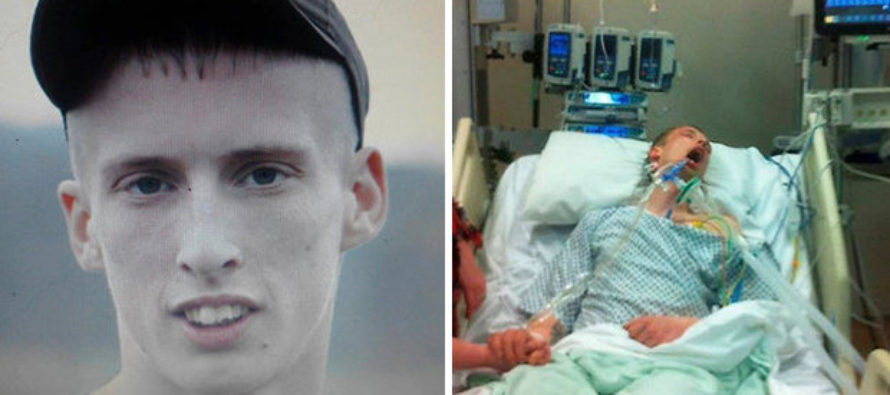 """Young father on life support after being spiked with """"legal"""" drug:  high Cotton Candy Carnage'"""