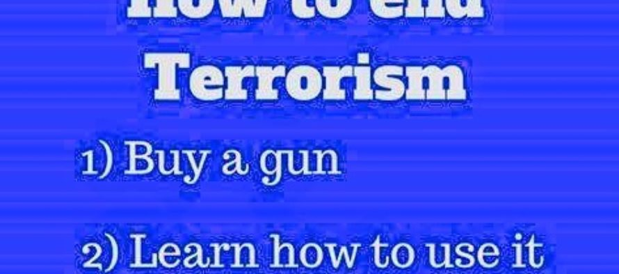 How To End Terrorism – The American Way [MEME]