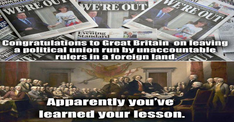 America VS Britain 800