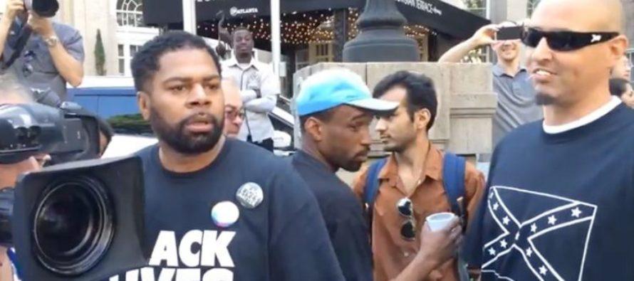 Well Spoken Black Teen Trump Supporter SHUTS DOWN Black Lives Matter Protester On Racism [VIDEO]
