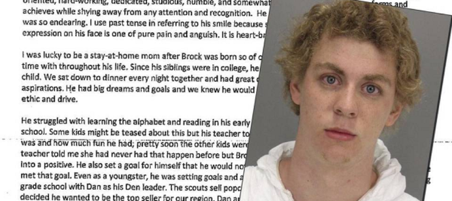Mother of Stanford's Rapist Swimmer says he doesn't deserve jail