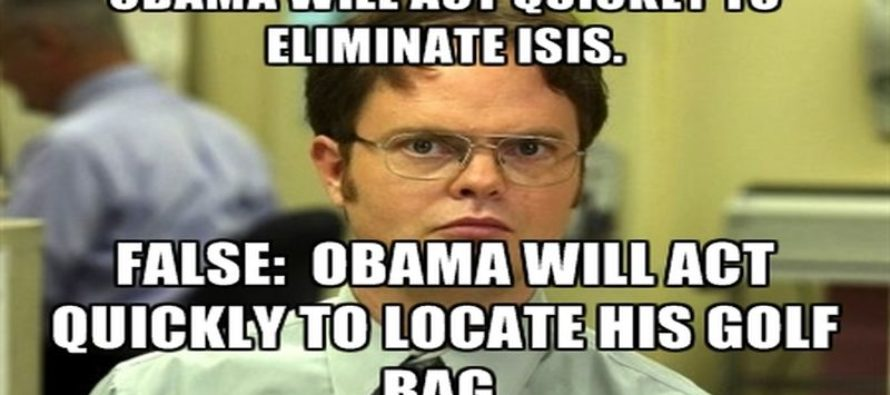 Obama's Plan To Eliminate ISIS DESTROYED In One Hilarious Meme