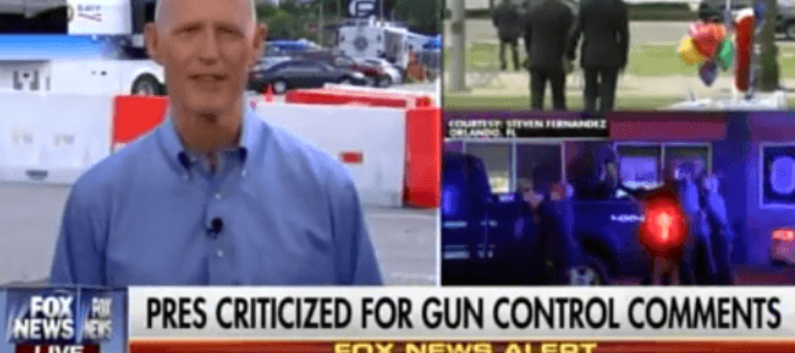 FL Governor LIVID After Obama's Memorial Lecture On Guns – '2nd Amend Didn't Kill Them! ISLAM Did!' [VIDEO]