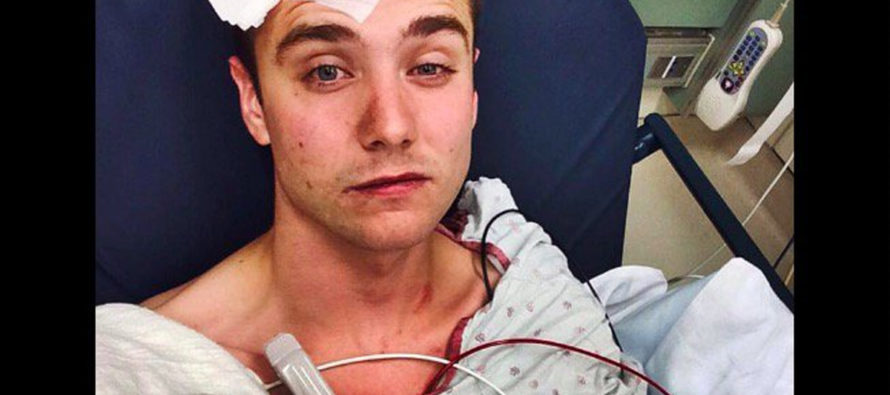 Gay Youtube Superstar Beats Himself Up With A Payphone – Calls It A HATE CRIME…