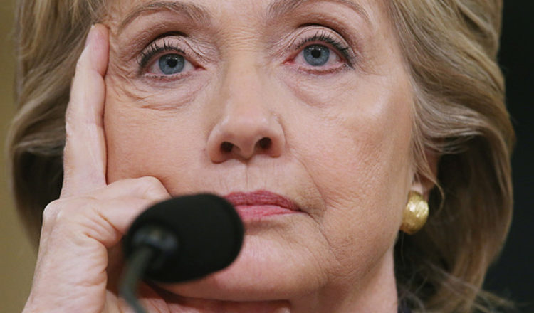 Democratic presidential candidate and former Secretary of State Hillary Clinton testifies before the House Select Committee on Benghazi October 22, 2015 on Capitol Hill in Washington, DC. The committee held a hearing to continue its investigation on the attack that killed Ambassador Chris Stevens and three other Americans at theÊdiplomatic compound in Benghazi, Libya,Êon the evening of September 11, 2012.