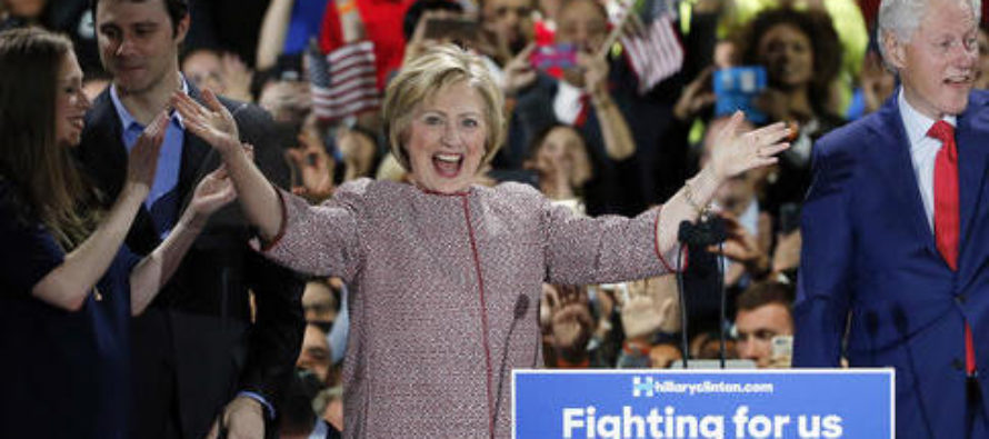 Hillary Clinton Talks About the Horrors of Income Inequality While Wearing $12K Armani Jacket