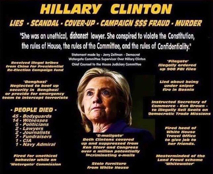 Hillary Fraud 750