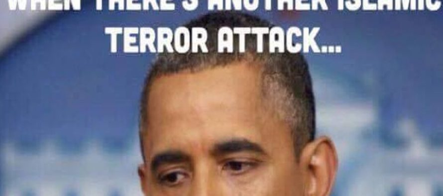 What Obama Does After a Terror Attack Will Make You SICK [Meme]