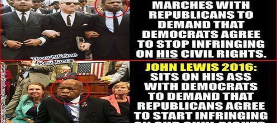 Why Liberal John Lewis is a MAJOR Hypocrite [Meme]