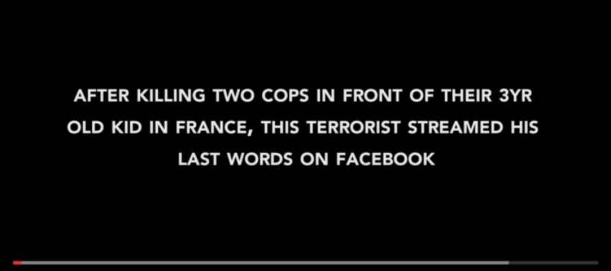 TERROR: Islamic Cop Killer's LIVE STREAM After Killing TWO Police Officers – Released To Public [VIDEO]
