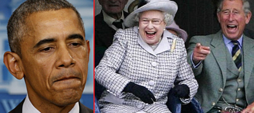 British Politician Just Said Something That Has The WHOLE WORLD Laughing At Obama… [AUDIO]