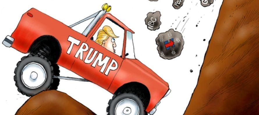 Rough Road Ahead (Cartoon)