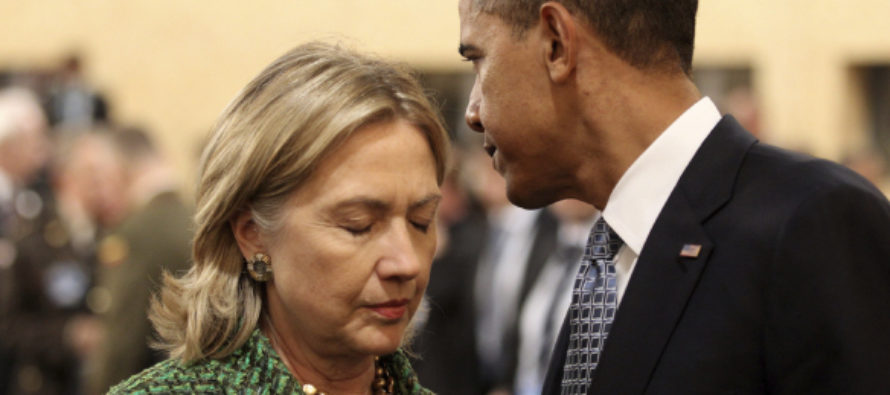 After Hillary Endorsement, Obama Ensures State Department Cannot Do THIS – Until After Election…