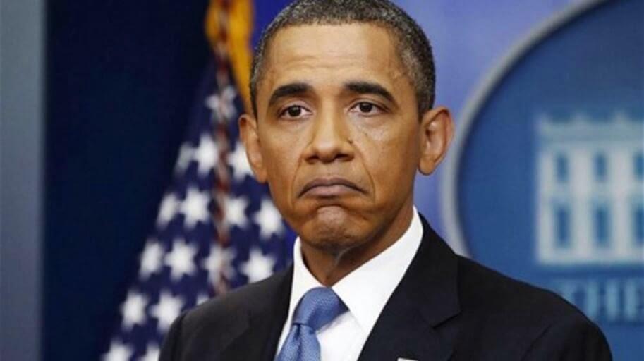 Sad Obama image credit Twitter 042015