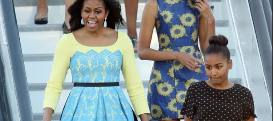 What Michelle Obama and Daughters Are Doing This Summer Will Make You SICK