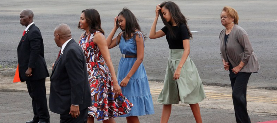 Outrage After Michelle Obama and Daughters Do THIS in Morocco