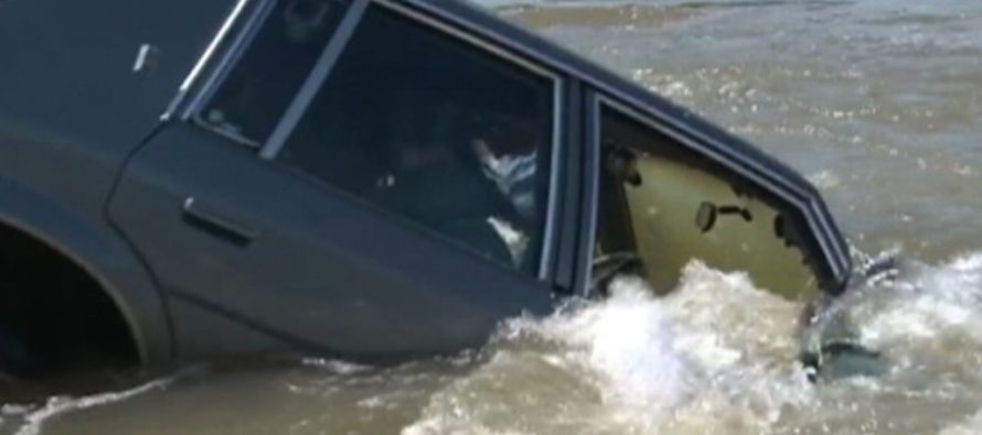 Video: This is the easiest way to escape a sinking car